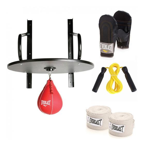 Kit De Boxeo Everlast Speed Bag