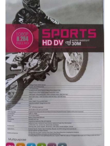 Câmera Esportiva Tipo Gopro Full Hd 1080p + Brinde Especial