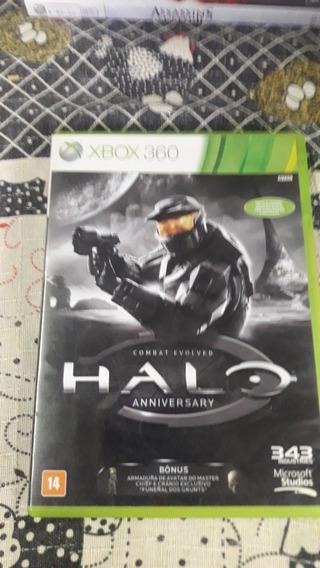 Jogo Xbox 360,halo Combat Evolved