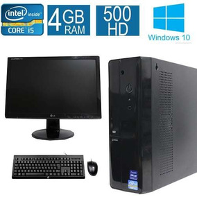 Computador Desktop Asus I5 4gb 500hd Monitor 19