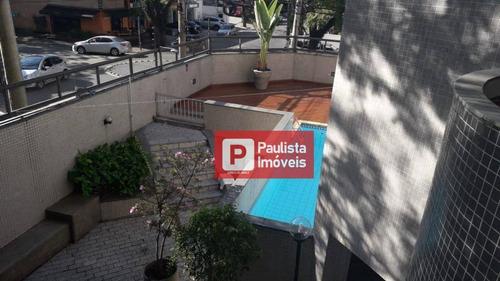 Apartamento Para Alugar, 160 M² Por R$ 4.500,00/mês - Campo Belo - São Paulo/sp - Ap25916