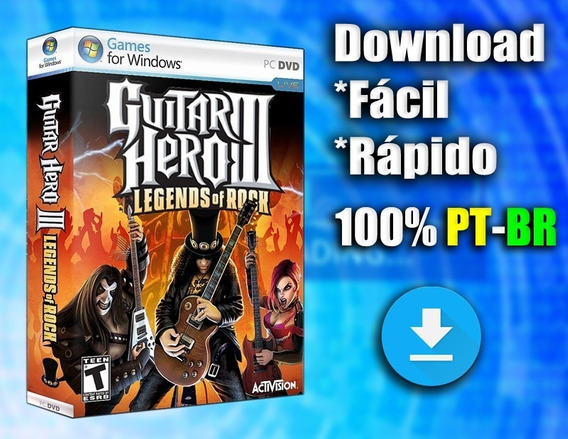 Guitar Hero 3 Legends Of Rock! Pc - 100%pt-br Midia Digital!