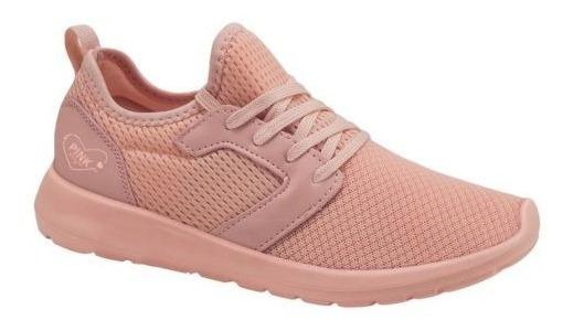 Tenis Casual Pink Correr Antiderrapantes 825424