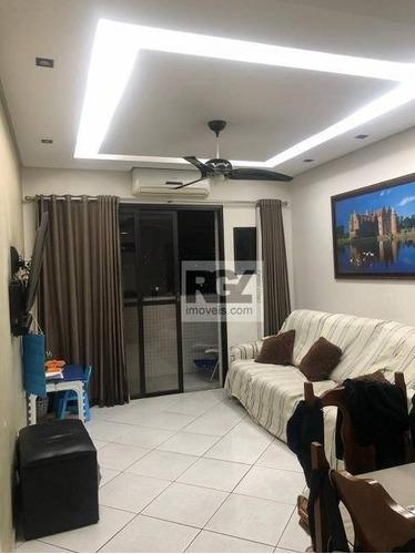 Imagem 1 de 21 de Apartamento À Venda, 65 M² Por R$ 490.000,00 - Aparecida - Santos/sp - Ap7634