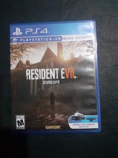 Resident Evil Biohazard 7 Ps4 Fisico