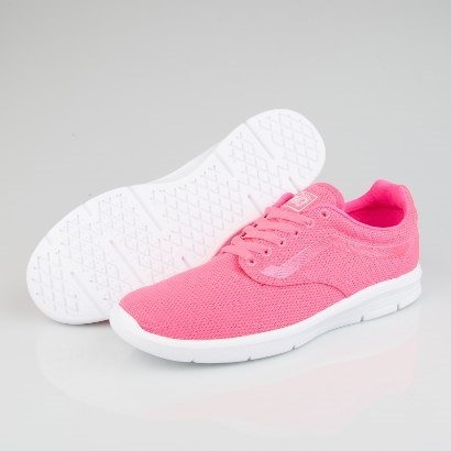 Vans Tenis Iso 1.5 Lifestyle Casual Rosa Neon Textil Mujer