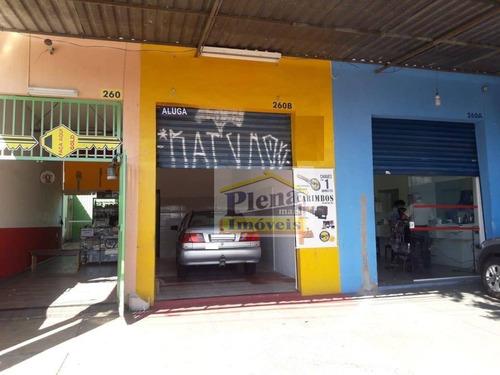 Salão Para Alugar Com 36 M² - Loteamento Remanso Campineiro - Hortolândia/sp - Sl0928