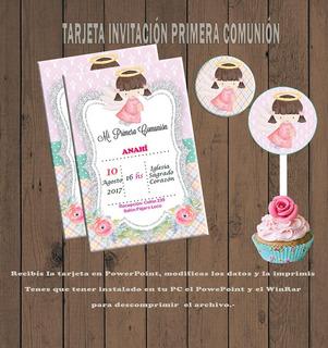Tarjetas De Invitacion Para Editar En Mercado Libre Argentina