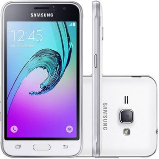 Smartphone Samsung Galaxy J1 J120h 8gb 5mp Branco Vitrine 1