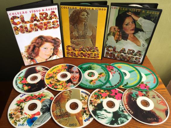 Dvd Clara Nunes - 4 Cd + 6 Dvd
