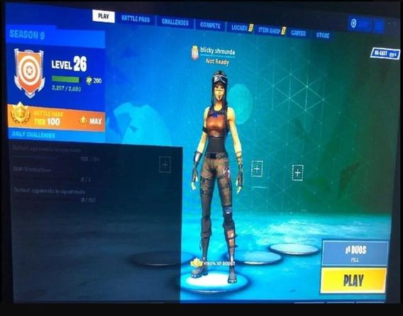 Skin Renegada Raider Incluye Más De 100 Skins