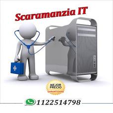 Servicio Técnico Pc Notebook A Domicilio + Reparación Remota