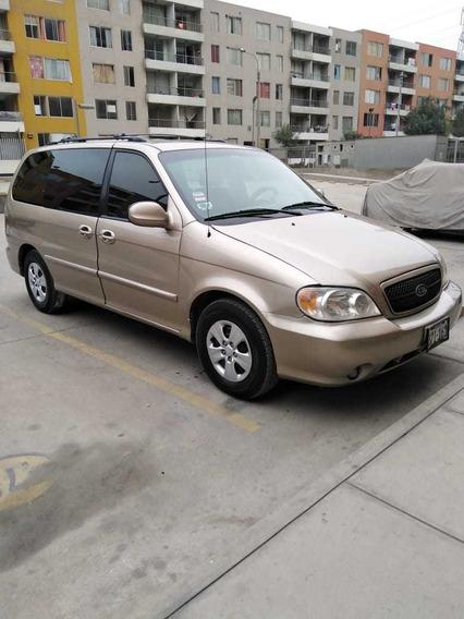 Kia Carnival 2005 Automatica Full, Gasolina-glp