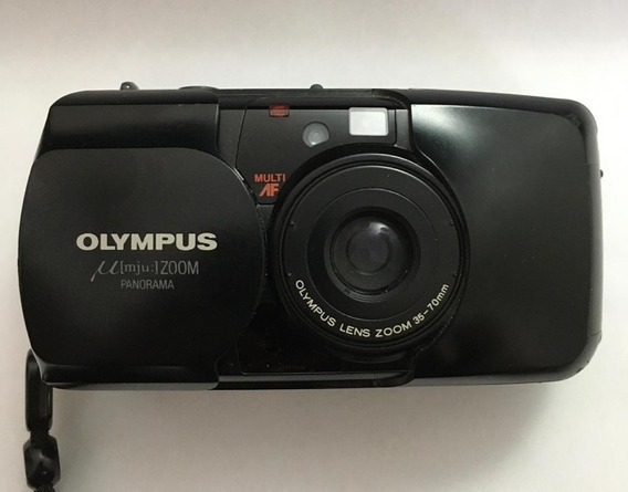 Câmera Fotográfica Olympus Mju Fabricada No Japão