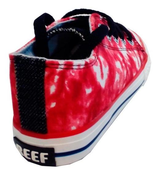 Zapatillas Niños Lona Marca Reef Original Modelo Chano R685