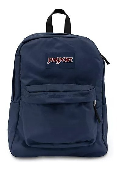 Mochila Jansport ® Superbreak Navy Azul Blue Original