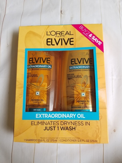Shampoo Elvive Loreal Kit Original