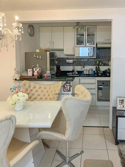 Apartamento Com 2 Dormitórios À Venda, 48 M² Por R$ 244.000,00 - Jardim Nova Europa - Campinas/sp - Ap1511