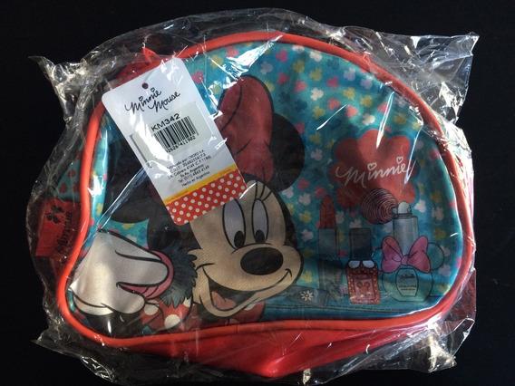 Cartera Minnie Disney Original, De Mano, Cierre Nueva