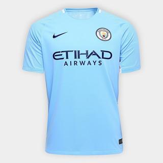 Camisa Manchester City Home 17/18 Torcedor Nike Masculina