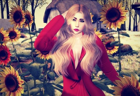 Avatar Feminino Mesh Completo - Second Life
