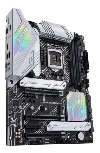 Imagen 1 de 6 de Motherboard Z590-a Asus Prime Lga1200 Intel Pc Gamer Blanco