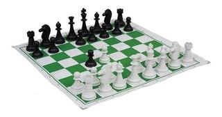 06 Jogo De Xadrez - Oficial - Números E Letras Nas Bordas