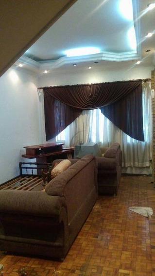 Sobrado Com 3 Dormitórios À Venda, 140 M² Por R$ 530.000,00 - Vila Homero Thon - Santo André/sp - So0626