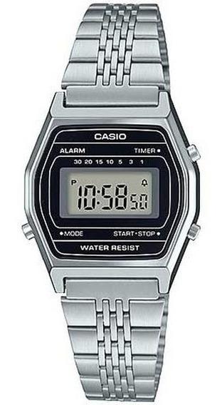 Relógio Vintage Casio La690wa-1df Prata