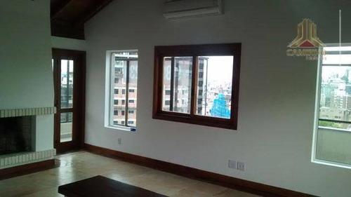 Imagem 1 de 26 de Cobertura Residencial À Venda, Petrópolis, Porto Alegre. - Co0386