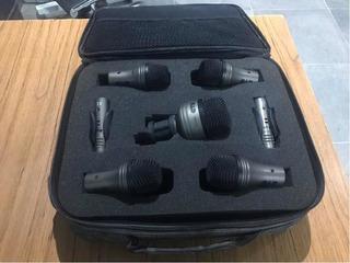 Micrófonos Cad Pro-7 Para Batería