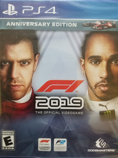 Fórmula 1 2019 - F1 2019 Anniversary Edition Ps4 Delivery