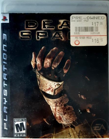 Dead Space - Ps3 Midia Fisica