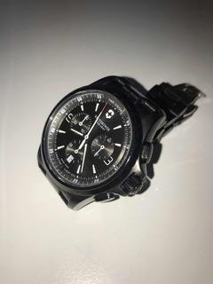 Reloj Swiss Army- Nigth Vision 241730 Man-100% Suizo- Zafiro