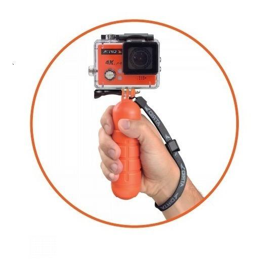 Kit Camera De Ação 4k Com Wifi + Acessório Flutuante - Dc185