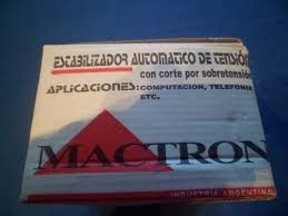 Estabilizador Automatico De Tension Pc, Monitor, Moden, Fax,