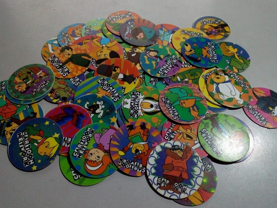 Super Lote 53 Tazos Cartoon Network 1995.