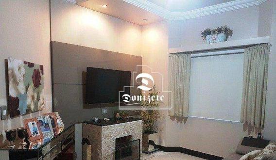 Sobrado Com 4 Dormitórios À Venda, 308 M² Por R$ 1.650.000,00 - Vila Alpina - Santo André/sp - So2631