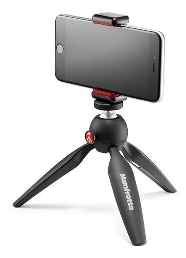 Mini Tripé Manfrotto Pixi Smart Para Smartphones E Câmeras