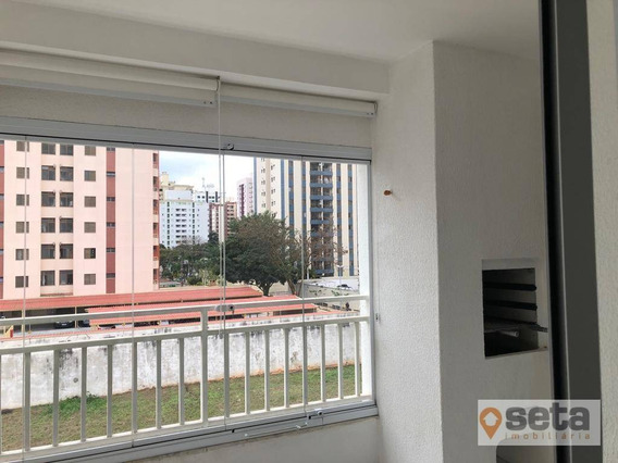 Apartamento Com 2 Dormitórios Para Alugar, 70 M² Por R$ 1.805,00/mês - Jardim Aquarius - São José Dos Campos/sp - Ap0936