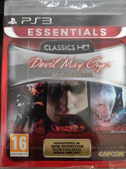 Playstation 3 Jogo Devil May Cry Hd Collection
