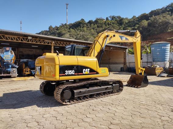 Escavadeira Hidraulica Caterpillar 315 Pouco Uso Zero Cat