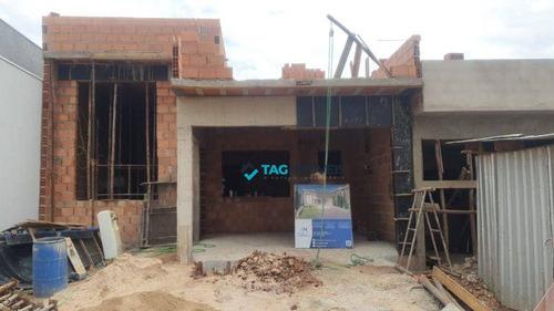 Casa Em Condomínio Para Venda Com 137 Metros Quadrados Na Vila Monte Alegre Em Paulínia - Sp. - Ca1014