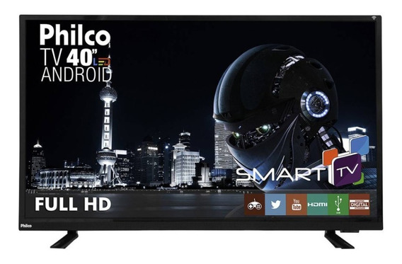 Smart Tv Android Led Full Hd 40 Pol Philco Ph40e60dsgwa