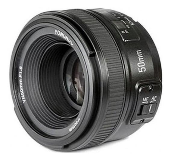 Lente Yongnuo Yn 50mm 1.8 Yongnuo P/ Canon Pr.entrega Nf.e #