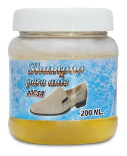 Shampoo/ Jabon Liquido Para Ante O Gamuza O Nobuck Pacsa