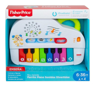 Fisher Price Perrito Piano Sonidos Divertidos