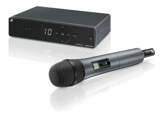Microfone Sem Fio Sennheiser Xsw1-825-a Uhf 10 Canais
