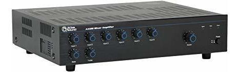 Amplificador Atlas Sound Aa120 120 Watt Six Entradas Mixer ®