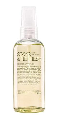Imagen 1 de 3 de Spray Invisible Hidrata Fija Y Refresca El Maquillaje Regina
